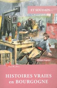 Philippe Anginot - Et soudain... - Histoires vraies en Bourgogne.