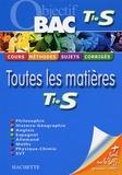 Philippe Angot et Sylvie Bobée - Toutes les matières Tle S.