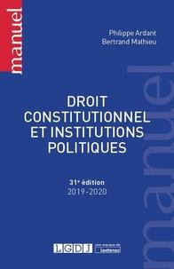 Téléchargements de livres pour kindle Droit constitutionnel et institutions politiques