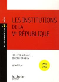 Philippe Ardant - Les institutions de la Ve République.