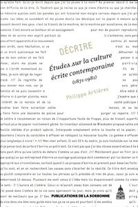 Décrire - Etudes sur la culture écrite contemporaine (1871-1981).pdf