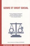 Philippe Auvergnon - Genre et droit social.