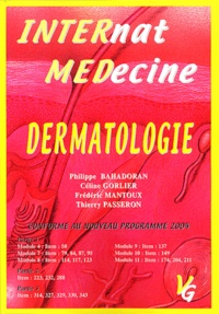 Dermatologie- Edition 2002 - Philippe Bahadoran | Showmesound.org