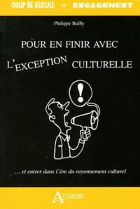 Téléchargement gratuit de livre d'ordinateur en pdf Pour en finir avec l'exception culturelle  - Et entrer dans l'ère du rayonnement culturel  in French