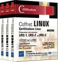 Philippe Banquet et Sébastien Bobillier - Linux - Coffret en 3 volumes : Préparation aux examens LPIC-1, LPIC-2 et LPIC-3.