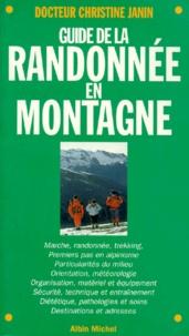 Philippe Bardiau et Christine Janin - Guide de la randonnée en montagne.