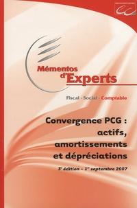 Philippe Barré - Convergence PCG : actifs, amortissements et dépréciations.