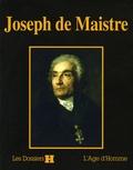 Philippe Barthelet et  Collectif - Joseph de Maistre.