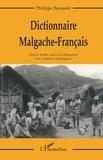 Philippe Beaujard - Dictionnaire malgache (dialectal)-français - Dialecte tañala, sud-est de Madagascar, avec recherches étymologiques.