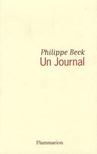 Philippe Beck - Un Journal.