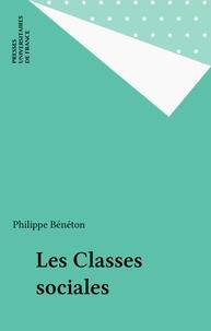 Philippe Bénéton - Les classes sociales.