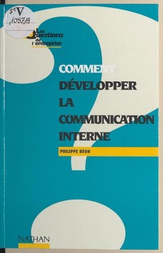 Comment développer la communication interne