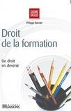 Philippe Bernier - Droit de la formation et des compétences.