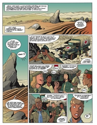 Les Exploits de Poison Ivy Tome 3 Baraka à Bir Hakeim