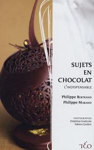 Philippe Bertrand et Philippe Marand - Sujets en chocolat.