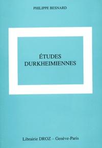 Philippe Besnard - Etudes Durkheimiennes.