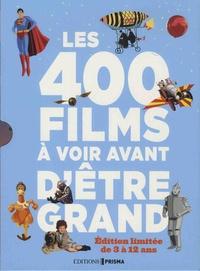 Philippe Besnier - Les 400 films à voir avant d'être grand - Coffret en 2 volumes : Les 200 films à voir avant d'être presque grand - De 3 à 8 ans ; Les 200 films à voir avant d'être grand - De 9 à 12 ans.