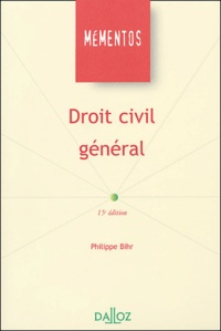 Philippe Bihr - Droit civil général.