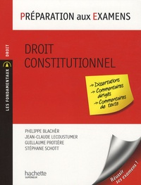 Deedr.fr Droit constitutionnel - Préparation aux examens Image