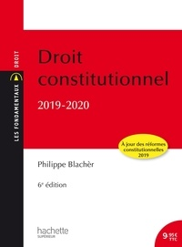 Philippe Blachèr - Droit constitutionnel.