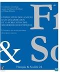 Philippe Blanchet et Didier de Robillard - L'implication des langues dans l'élaboration et la publication des recherches scientifiques - L'exemple du français parmi d'autres langues.