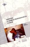 Philippe Bocquier - Insertion et mobilité professionnelles à Dakar.