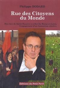 Philippe Bodard - Rue des Citoyens du Monde.