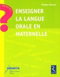 Deedr.fr Enseigner la langue orale en maternelle Image