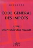 Philippe Bonafoux - Code général des impôts. - Livre des procédures fiscales, 3ème édition 2000.