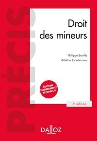 Philippe Bonfils et Adeline Gouttenoire - Droit des mineurs - 3e ed..