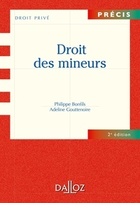 Philippe Bonfils et Adeline Gouttenoire - Droit des mineurs.