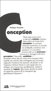 Philippe Boudon - Conception.
