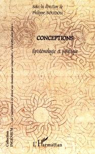 Philippe Boudon - Conceptions - Epistémologie et poïétique.