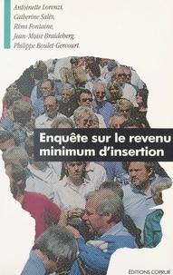 Philippe Boulet-Gercourt et Jean-Moïse Braideberg - Enquête sur le revenu minimum d'insertion.