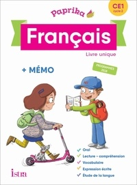 Philippe Bourgouint et Eléonore Bottet - Français CE1 cycle 2 Paprika - Livre élève.