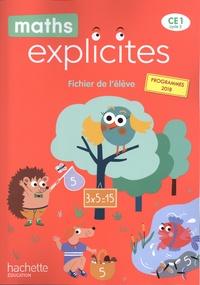 Philippe Bourgouint et Lucien Castioni - Maths Explicites CE1 - Fichier de l'élève + mémo.
