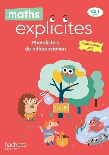 Philippe Bourgouint et Lucien Castioni - Maths explicites CE1 - Photofiches de différenciation.
