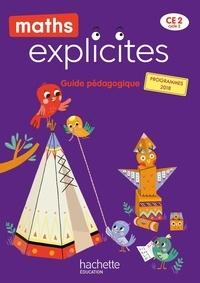 Philippe Bourgouint et Van gong angélique Le - Maths Explicites CE2 - Guide pédagogique - Edition 2021.