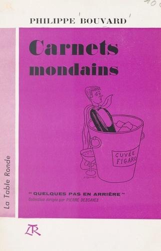 Carnets mondains