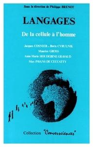 Philippe Brenot - Langages de la cellule à l'homme.