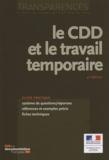 Philippe Brulin - Le CDD et le travail temporaire.