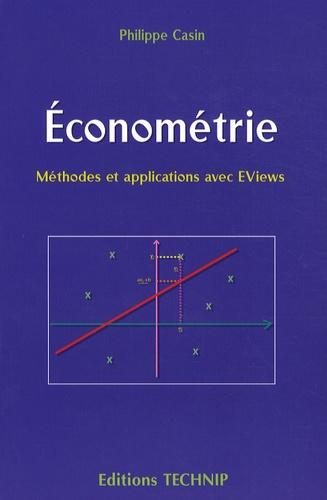 Philippe Casin - Econométrie.