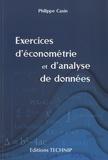 Philippe Casin - Exercices d'économétrie et d'analyse de données.
