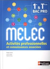 Deedr.fr Activités professionnelles et connaissances associées 1re Tle Bac Pro MELEC - Manuel de l'élève Image