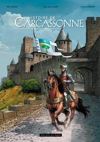 Philippe Castaza et Jean-Marie Cuzin - L'histoire de Carcassone.