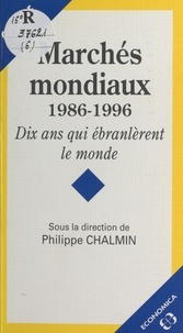 Philippe Chalmin et  Collectif - .