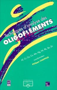 TECHNIQUE D'ANALYSE DES OLIGOELEMENTS CHEZ L'HOMME. Al, Cr, Co, Cu, Mn, Hg, Ni, Pb, Se, Zn - Philippe Chappuis | Showmesound.org
