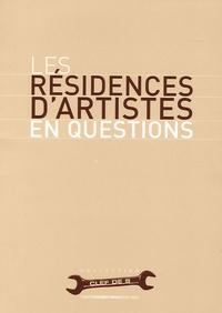 Philippe Chaudoir - Les résidences d'artistes en questions.