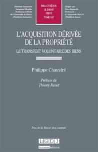 Accentsonline.fr L'acquisition dérivée de la propriété - Le transfert volontaire des biens Image
