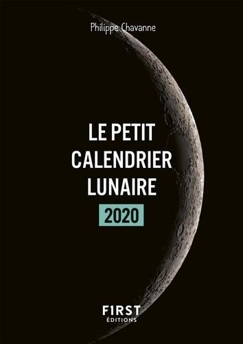 Le petit calendrier lunaire  Edition 2020